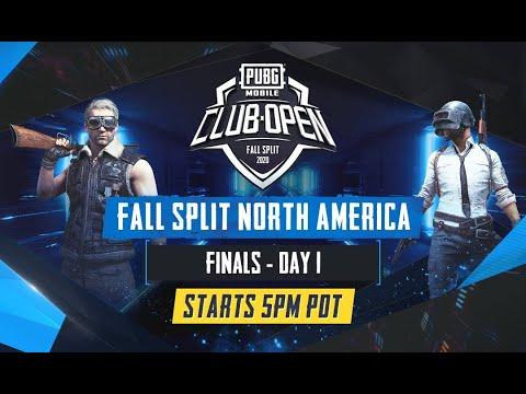 [EN] PMCO North America Finals Day 1 | Fall Split | PUBG MOBILE CLUB OPEN 2020 by PUBG MOBILE Esports