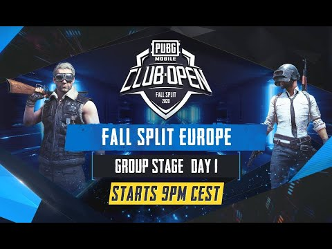 [EN] PMCO Europe Group Stage Day 1 | Fall Split | PUBG MOBILE CLUB OPEN 2020 by PUBG MOBILE Esports