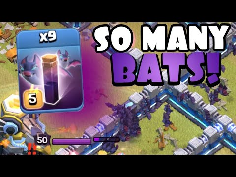 THAT IS A LOT OF BATS! TH13 Platoon Tournament | Best TH13 Attack Strategies in Clash of Clans by Clash with Eric – OneHive
