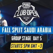 [AR] PMCO Saudi Arabia Group Stage Day 5 | Fall Split | PUBG MOBILE CLUB OPEN 2020 by PUBG MOBILE Esports