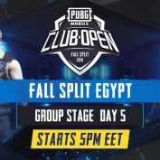 [AR] PMCO Egypt Group Stage Day 5 | Fall Split | PUBG MOBILE CLUB OPEN 2020 by PUBG MOBILE Esports