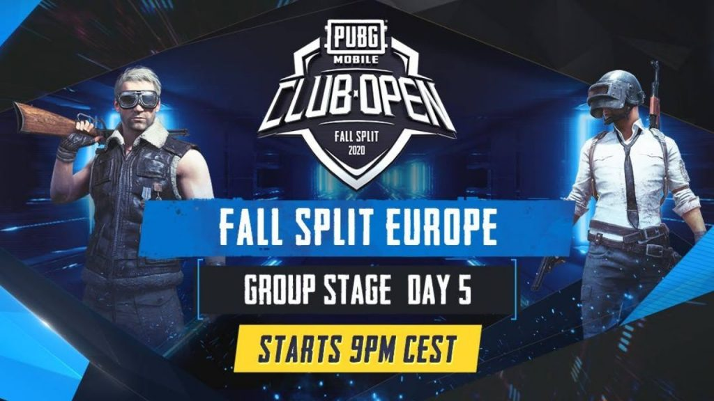[EN] PMCO Europe Group Stage Day 5 | Fall Split | PUBG MOBILE CLUB OPEN 2020 by PUBG MOBILE Esports