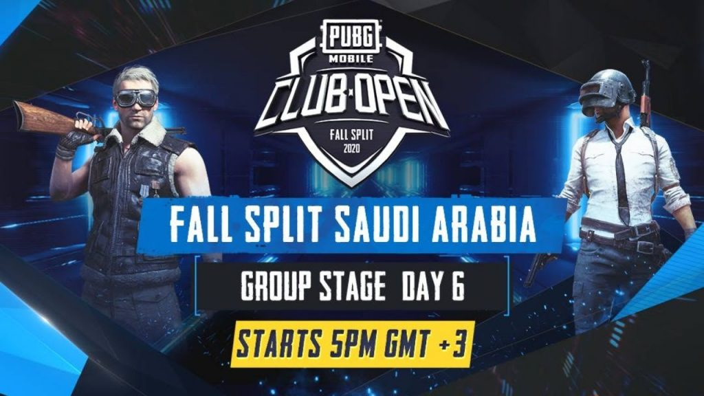 [AR] PMCO Saudi Arabia Group Stage Day 6 | Fall Split | PUBG MOBILE CLUB OPEN 2020 by PUBG MOBILE Esports