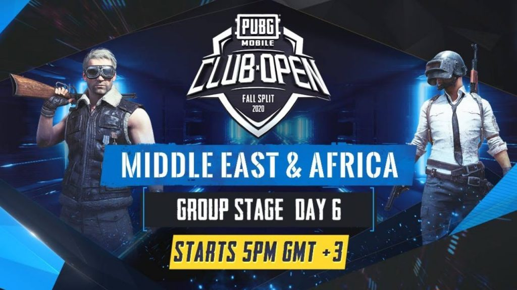 [AR] PMCO Middle East & Africa Group Stage Day 6 | Fall Split | PUBG MOBILE CLUB OPEN 2020 by PUBG MOBILE Esports