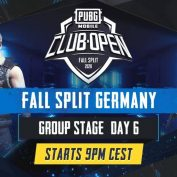 [DE] PMCO Germany Group Stage Day 6 | Fall Split | PUBG MOBILE CLUB OPEN 2020 by PUBG MOBILE Esports