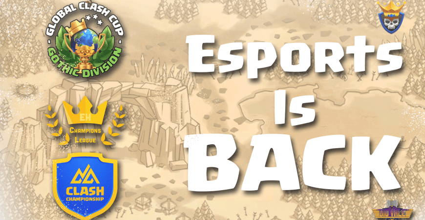 Esports Returned to Clash of Clans by Big Vale