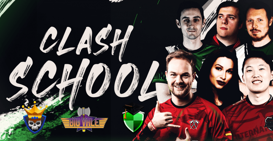 Want to up your game? – Clash School can help by Big Vale