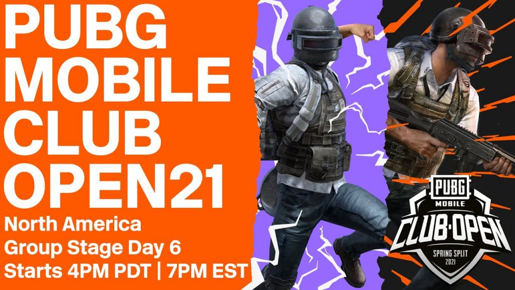 [EN] PMCO North America Group Stage Day 6 | Spring Split | PUBG MOBILE Club Open 2021 by PUBG MOBILE Esports
