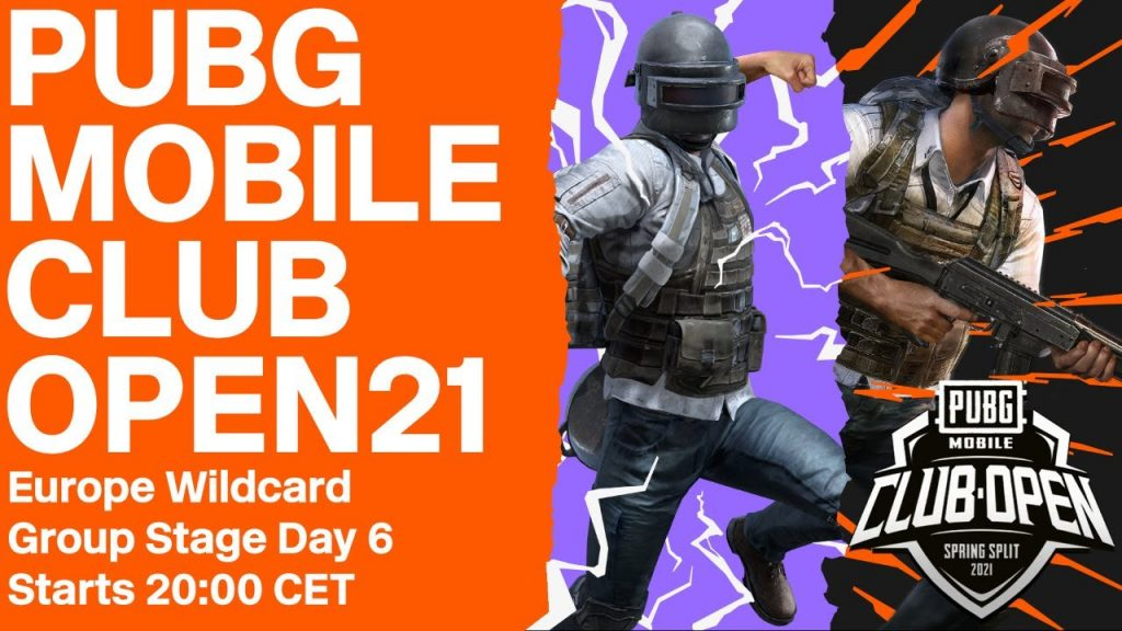 [EN] PMCO Europe Group Stage Day 6 | Spring Split | PUBG MOBILE Club Open 2021 by PUBG MOBILE Esports
