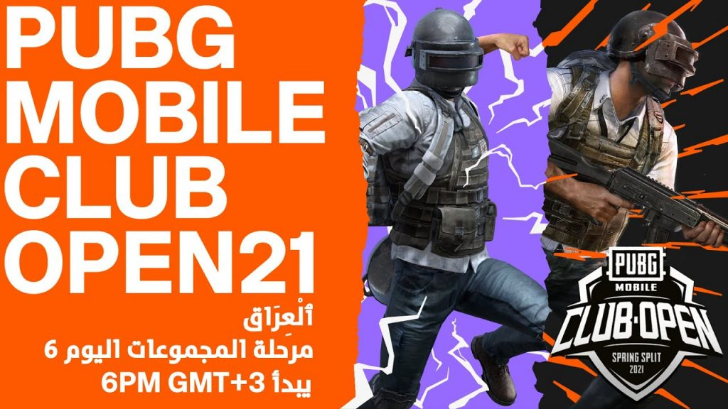 [AR] PMCO Iraq Group Stage Day 6 | Spring Split | PUBG MOBILE Club Open 2021 by PUBG MOBILE Esports