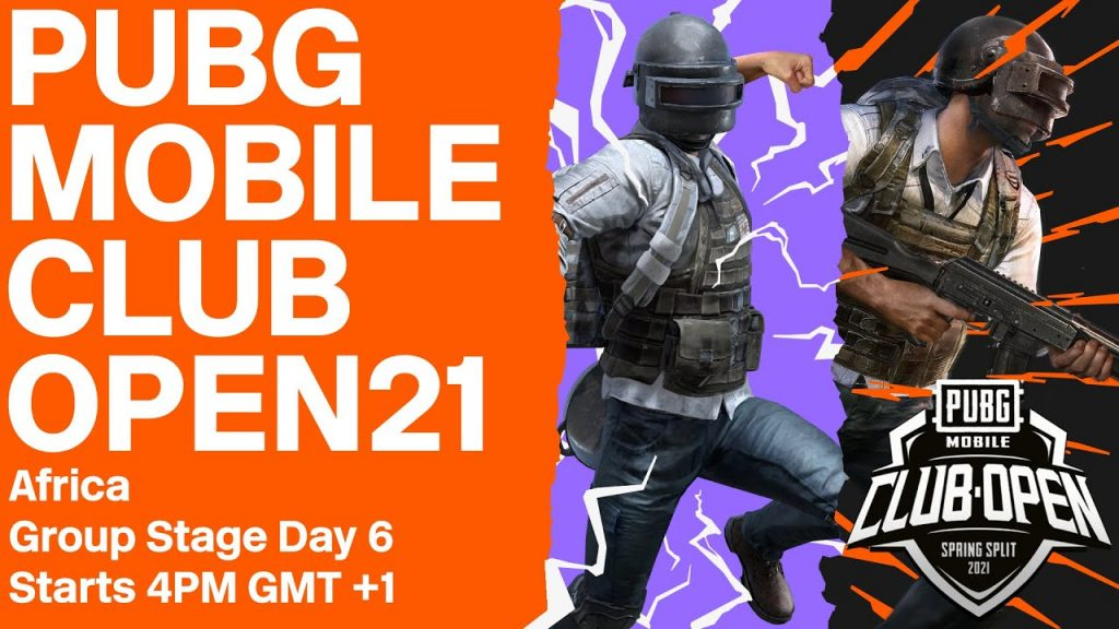 [EN] PMCO Africa Group Stage Day 6 | Spring Split | PUBG MOBILE Club Open 2021 by PUBG MOBILE Esports