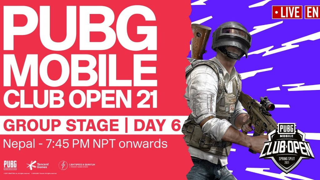 [EN] PMCO Nepal Group Stage Day 6 | Spring Split | PUBG MOBILE Club Open 2021 by PUBG MOBILE Esports
