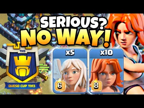 PRO PLAYER USED 10 VALKYRIE ATTACK IN TH13 QUESO CUP TOURNAMENT! Clash of Clans eSports by Clash with Eric – OneHive