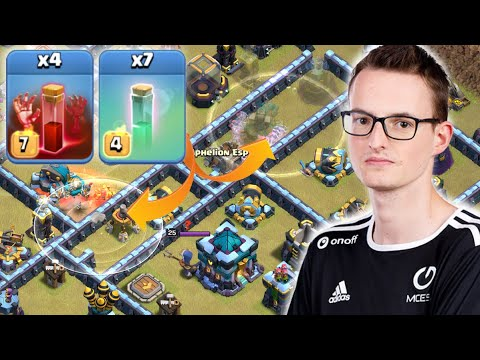 999 IQ DOUBLE skelly donut LALO from Synthe was INSANE!! Clash of Clans eSports by Clash with Eric – OneHive