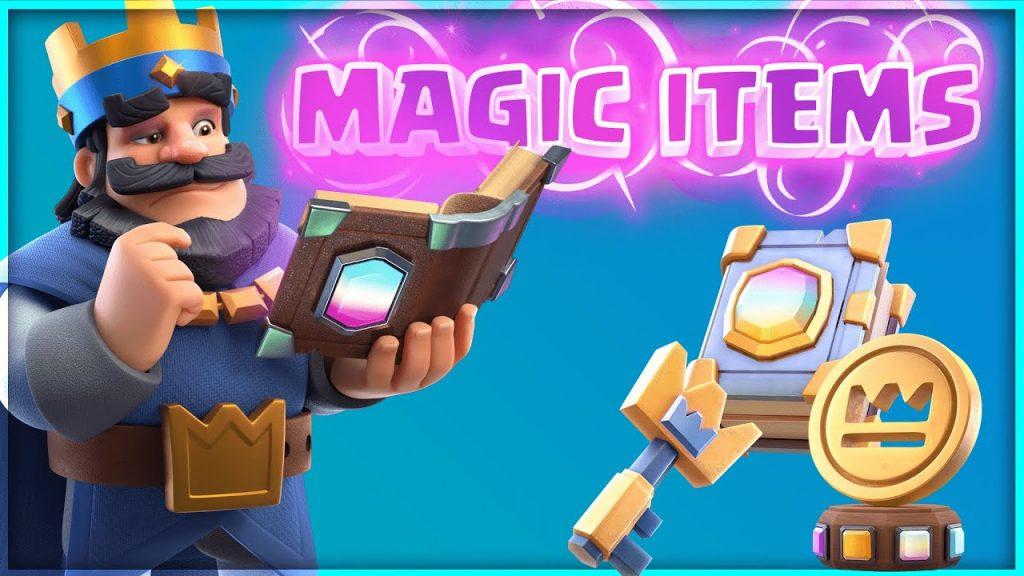 MAGIC ITEMS UPDATE SNEAK PEEK! HOW DO MAGIC ITEMS WORK IN CLASH ROYALE?! by FullFrontage