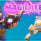 MAGIC ITEMS UPDATE SNEAK PEEK! HOW DO MAGIC ITEMS WORK IN CLASH ROYALE?! by FullFrontage