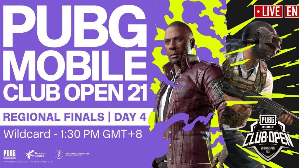 [EN] PMCO Wildcard Regional Finals Day 4 | Spring Split | PUBG MOBILE Club Open 2021 by PUBG MOBILE Esports