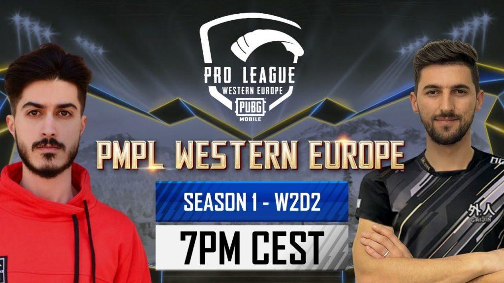 [EN] PMPL Western Europe W2D2   Season 1   PUBG MOBILE Pro League 2021 -A Battle of Qualifying to SW by PUBG MOBILE Esports