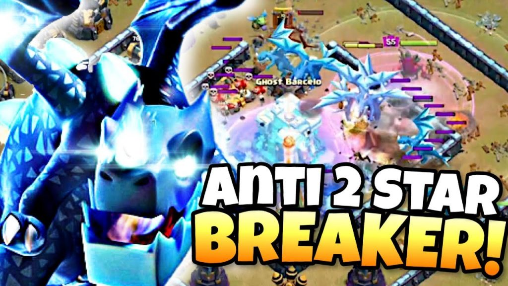 ELECTRO DRAGONS used by TOP Players CRUSH ANTI 2 STAR BASES! Clash of Clans eSports by Clash with Eric – OneHive