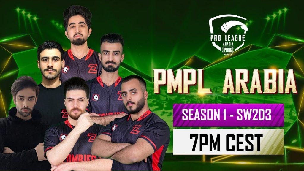 [EN] PMPL Arabia SW2D3   Season 1   PUBG MOBILE Pro League 2021 by PUBG MOBILE Esports