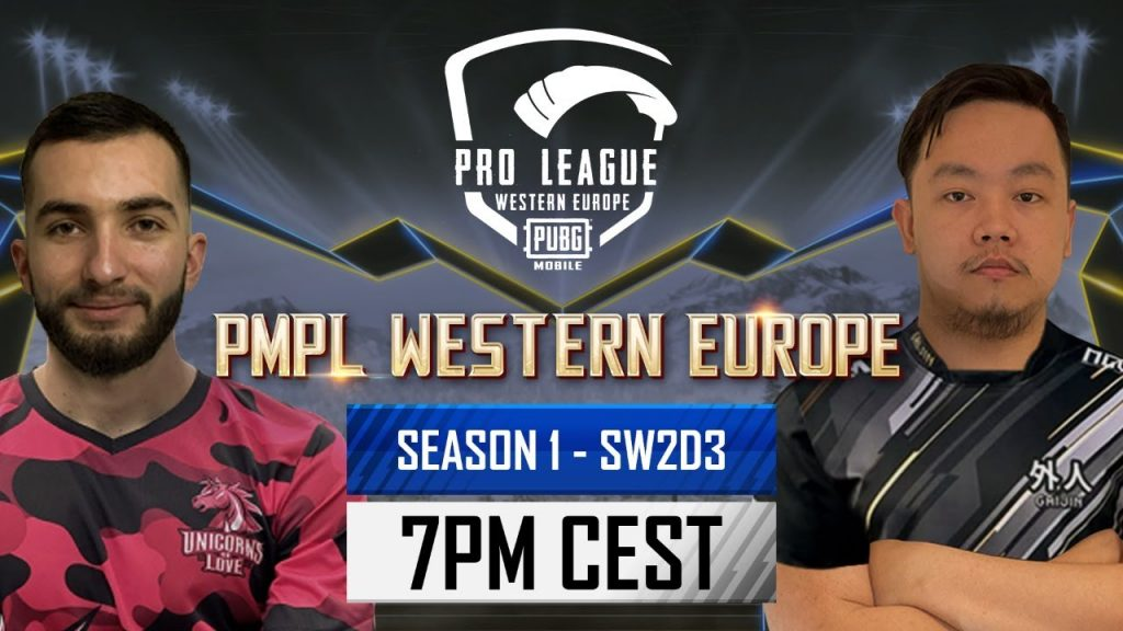 [EN] PMPL Western Europe SW2D3   Season 1   PUBG MOBILE Pro League 2021 The Climb to the Top Begins by PUBG MOBILE Esports