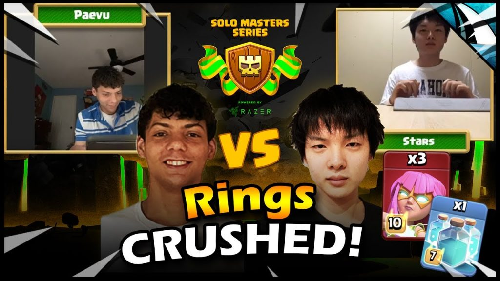 The EASIEST WAY to TRIPLE RING BASES!! Super Archers!! Stars vs Paevu by CarbonFin Gaming