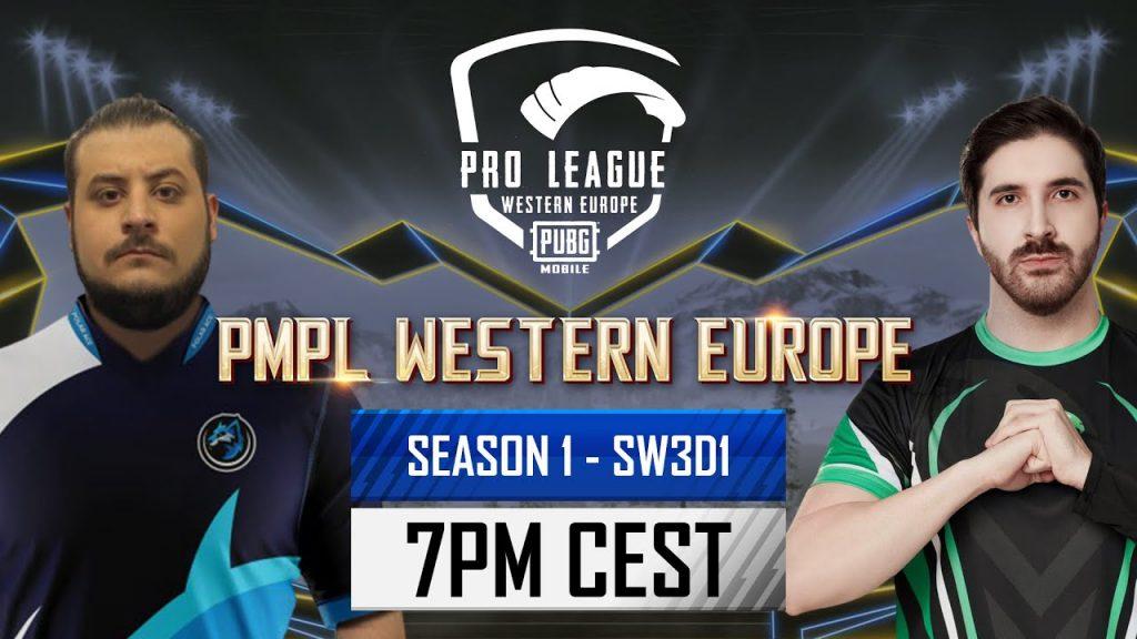 [EN] PMPL Western Europe SW3D1 |Season 1| PUBG MOBILE Pro League 2021- Qatar Forces, Redemption Arc? by PUBG MOBILE Esports