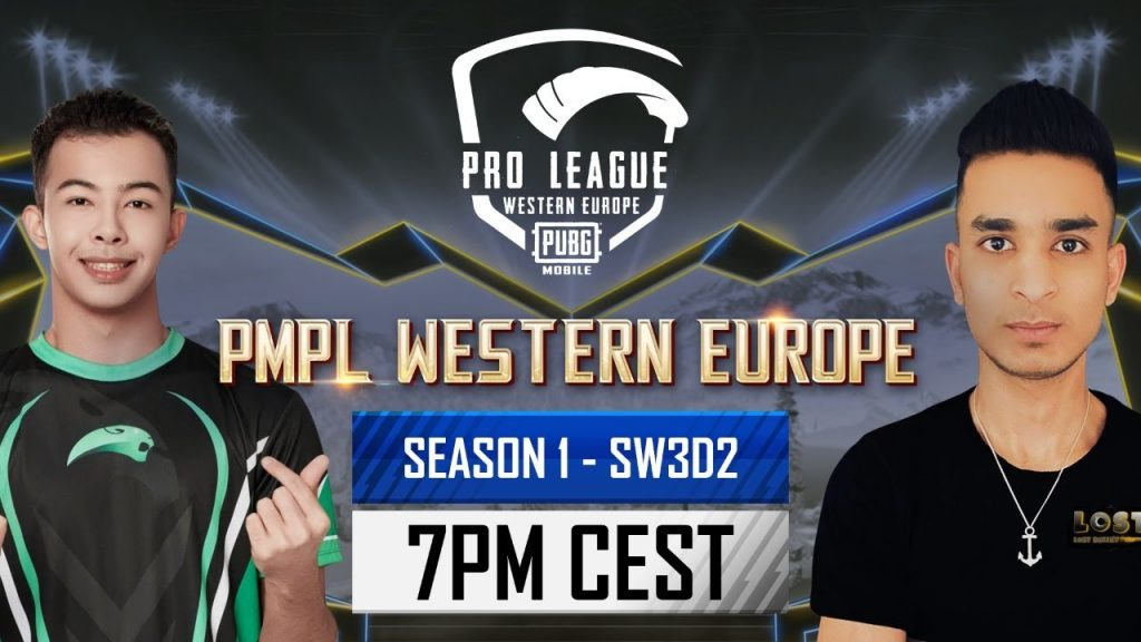 [EN] PMPL Western Europe SW3D2 | Season 1 | PUBG MOBILE Pro League 2021 by PUBG MOBILE Esports