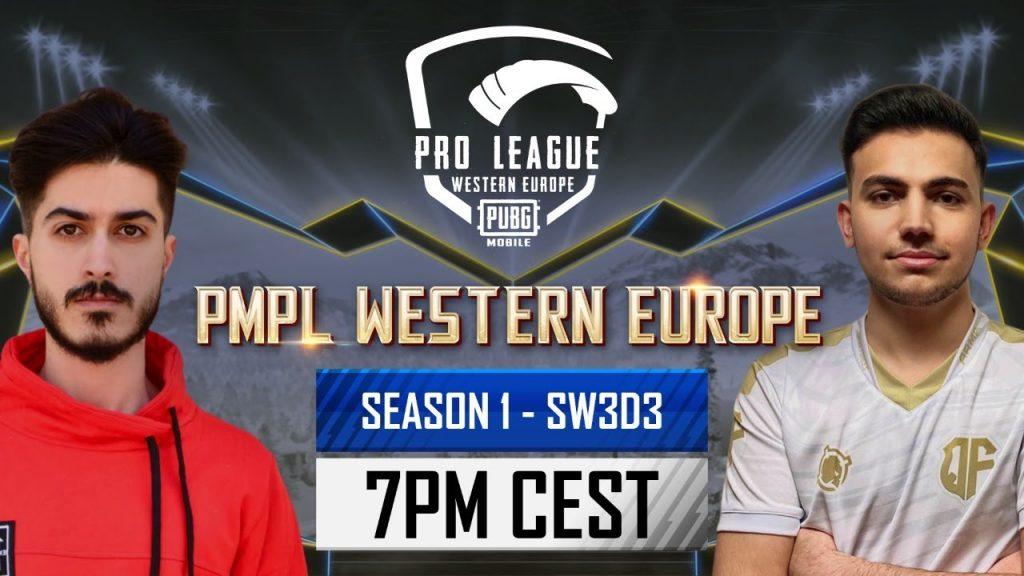 [EN] PMPL Western Europe SW3D3 | Season 1 | PUBG MOBILE Pro League 2021 by PUBG MOBILE Esports