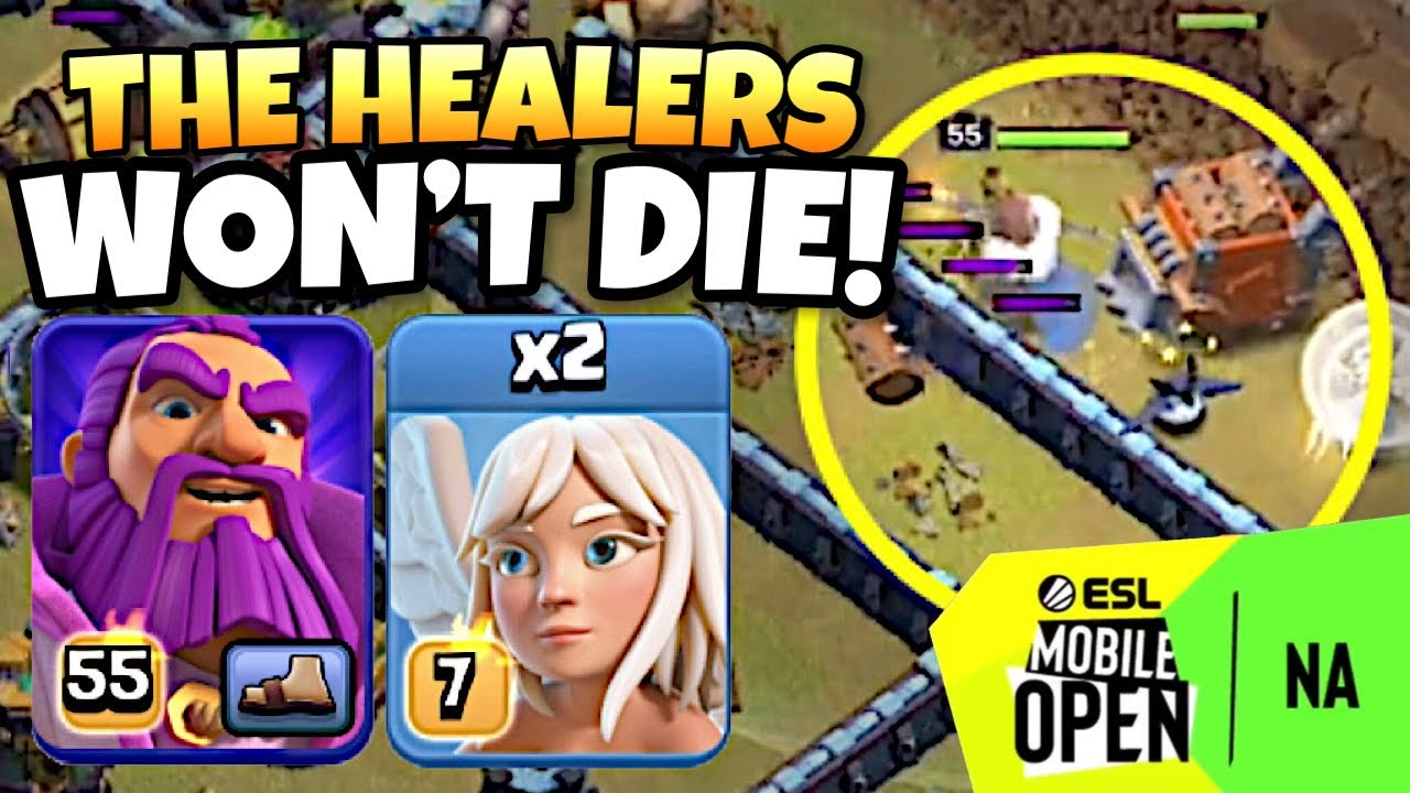 2 HEALER Warden Walk PERFECTLY sets up this LAVALOON attack! | Clash of Clans eSports by Clash with Eric – OneHive