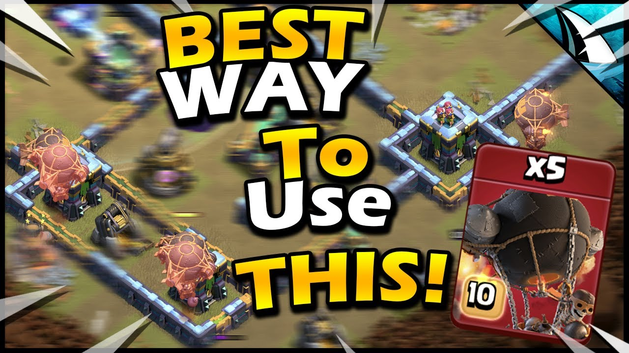 The SMARTEST way to use ROCKET LOONS to clean up a Base!! by CarbonFin Gaming
