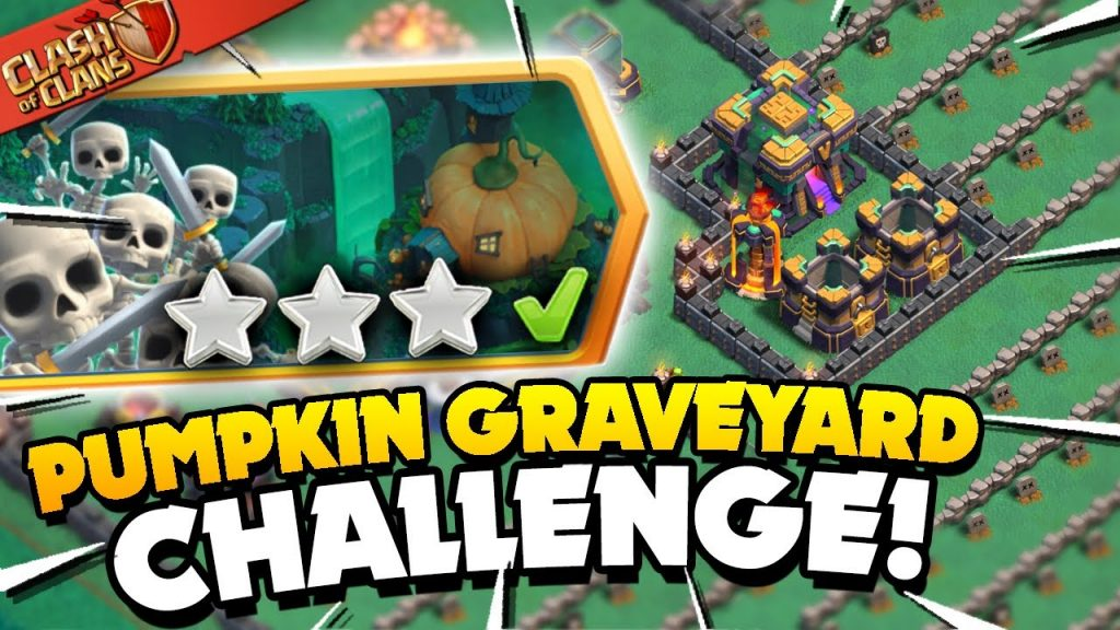 Easily 3 Star the Pumpkin Graveyard Challenge (Clash of Clans) by Judo Sloth Gaming