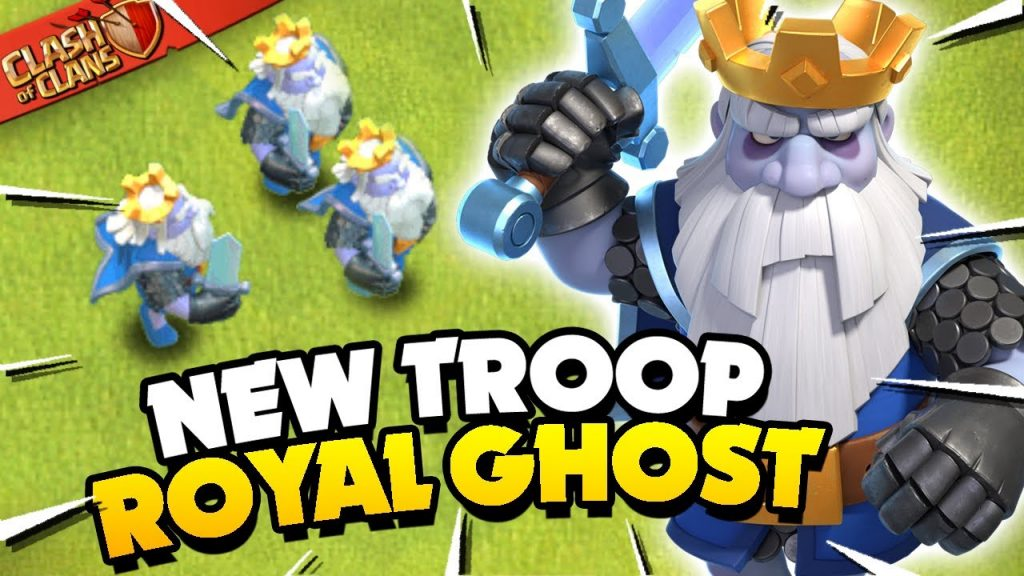New Royal Ghost Troop Explained (Clash of Clans) by Judo Sloth Gaming